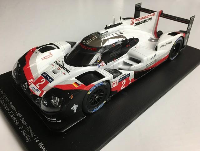2017 Porsche 919 Le Mans Winner #2 1:18 Scale by Spark   18LM17